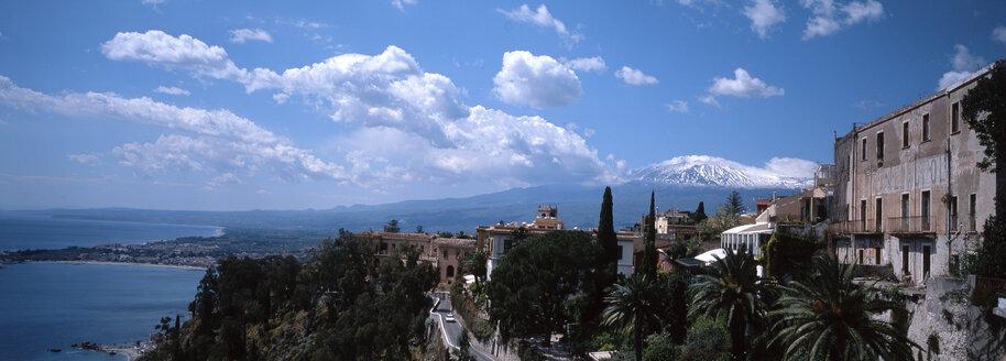 Taormina with Etna, Sicily, Italy - 00610HS