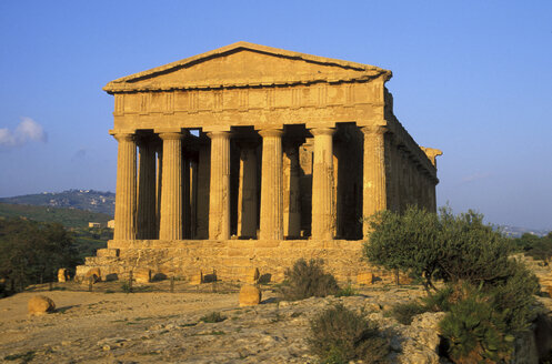 Concordia Temple of Agrigento, Sicily, Italy - 00560HS