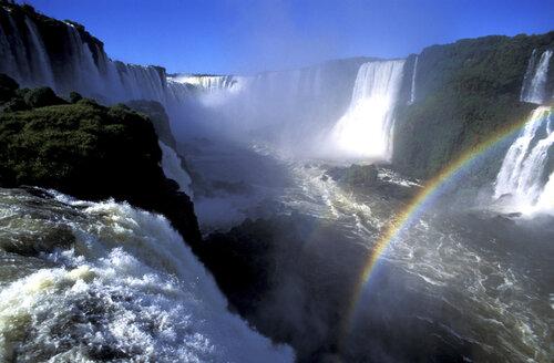 Iguazu-Waterfalls, Brasil - 00501HS
