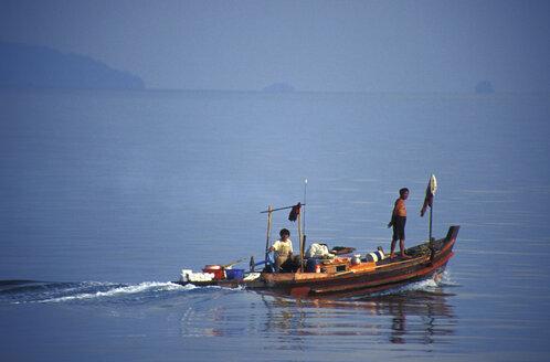 Fisherboat, Koh Mak, Thailand - 00431GN