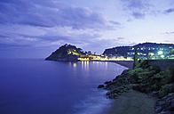 Spain, view on Vila Vella of Tossa de Mar - 00151MS