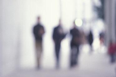 People walking (blurred motion) - 00439AS