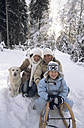 Family with dog - HHF00025