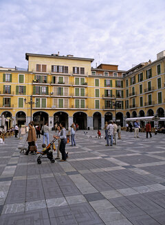 Palma de Mallorca, Mallorca, Spain, plaza mayor - PE00261