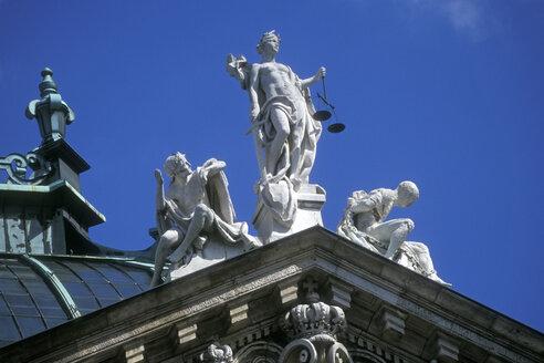palace of justice, Justizia, bavaria, Munich - MB00171