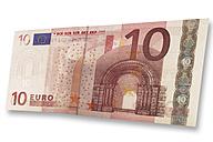 Euro bank note - 01032CS-U