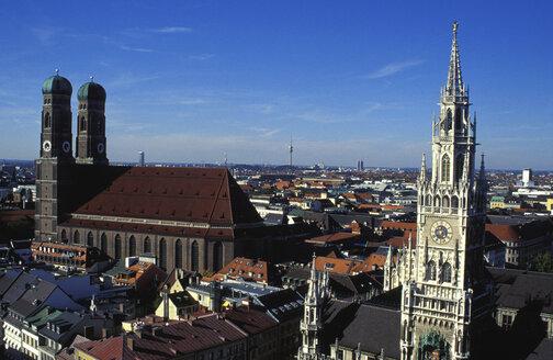 Germany, Munich, City view - 00107GS