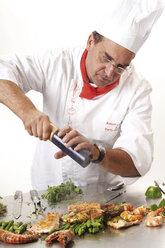 Cook seasoning grilled fish - 01654CS-U
