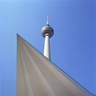 Alexanderplatz, TV Tower, Berlin, Germany - PMF00362