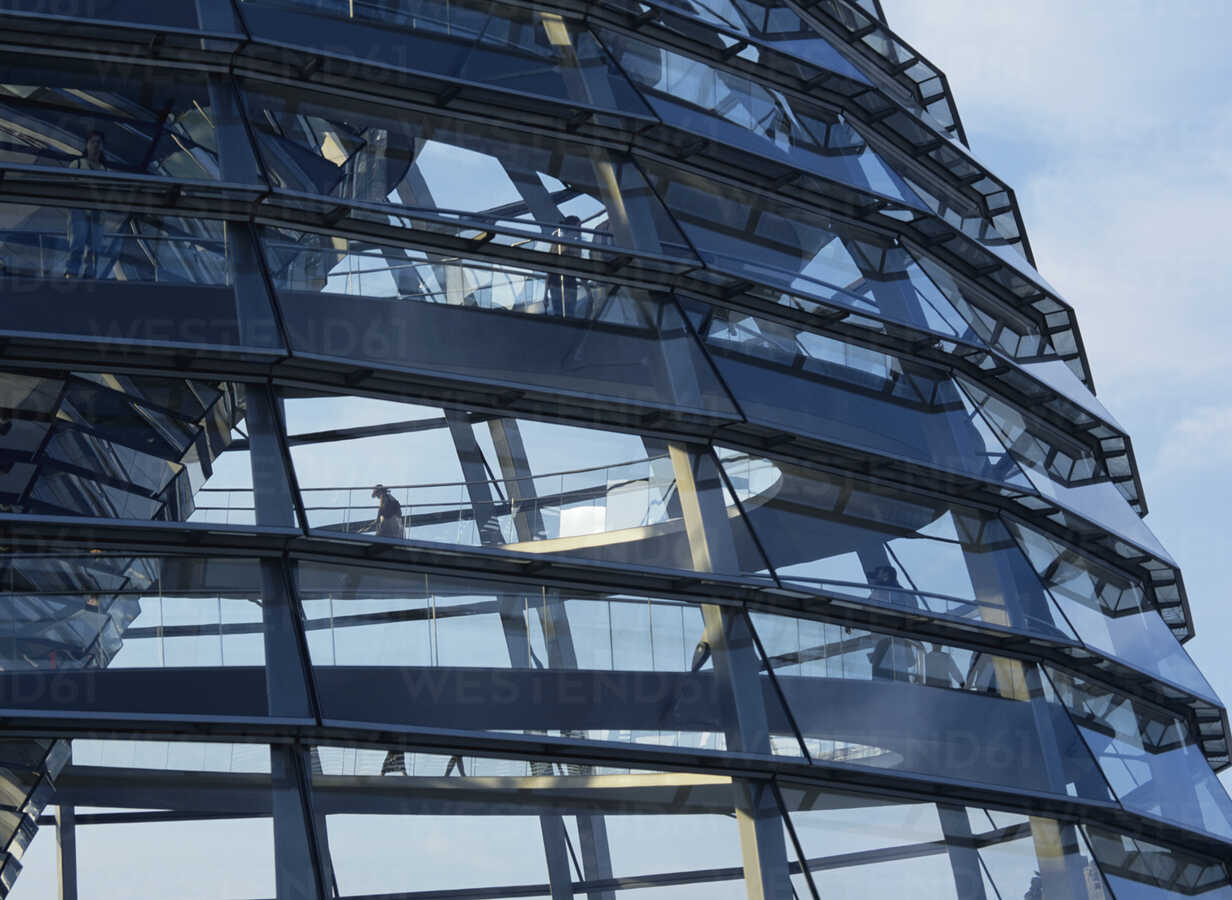 Dome of the Reichstag, Berlin, Germany - PEF00434 - Petrol/Westend61