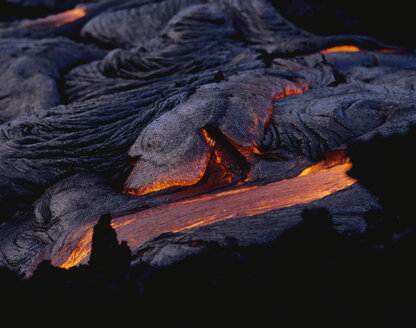 Pahoehoe Lava, Big Island, Hawaii - RMF00071