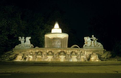 Germany, Bavaria, Munich, Fountain, Wittelsbacher Brunnen - GNF00716
