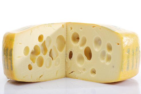 Block of Swiss cheese, close-up - 03114CS-U