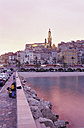 France, Menton, view to plage des sablettes - MS01888