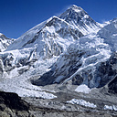 Nepal, Solo Khumbu, Mount Everest senn from Kala Pattar - RM00136