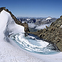 Austria, Öetztal Alps, view from Eiskastenspitze to Glockenturm - RM00130