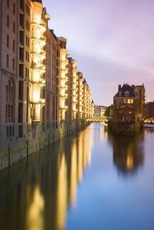 Germany, Hamburg, view to Speicherstadt - 00040MS-U
