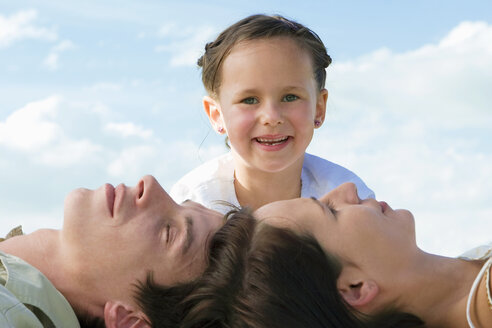 Family, daughter smiling. portrait - LDF00351