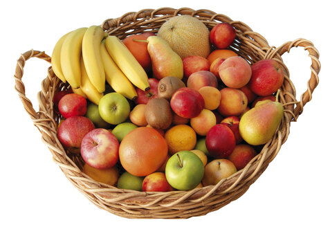 Fruit basket, elevated view - 00177LR-U