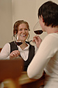 Two women testing wine - WESTF03793