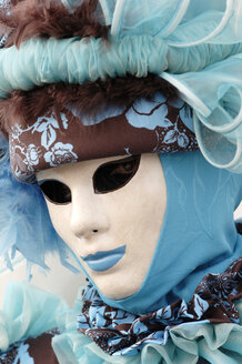 Italy, Venice, masked person - 00204LR-U