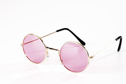 Pink metal-rimmed spectacles - 05944CS-U
