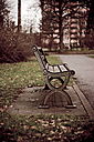Bench in park - DW00009