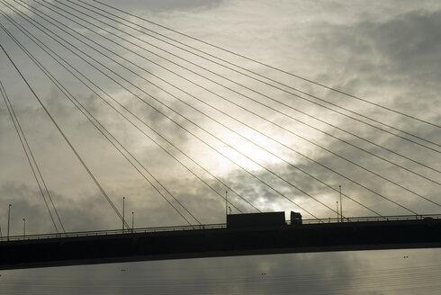 Germany, Hamburg, Koehlbrand bridge - NHF00288