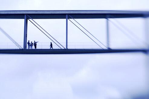 Germany, Berlin, bridge for members of the Bundestag - KM01019