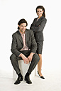 Businessman and businesswoman - WESTF04686