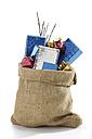 Christmas santa sac with presents - 06540CS-U