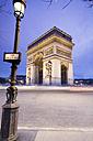France, Paris, triumphal arch - MSF02038