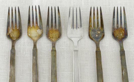 Tarnished silver Forks - KSWF00023