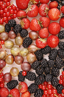 Various berries, close-up - 00323LR-U