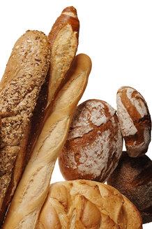 Various sorts of bread, close-up - 00317LR-U