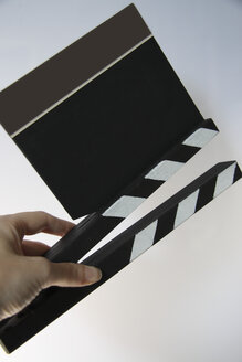 Clapperboard, close-up - TLF00200