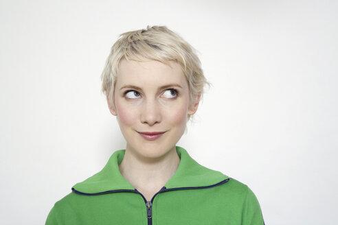 Portrait of a blonde woman - TCF00140