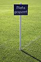 Germany, Bavaria, Soccer Field - TCF00109