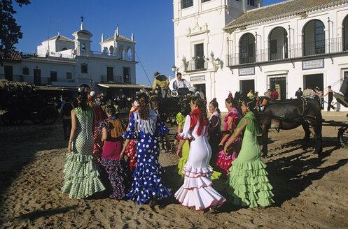 Spain, Andalusia, El Rocio, pilgrimage - HS01003