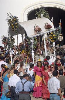 Spain, Andalusia, El Rocio, pilgrimage - HS01000