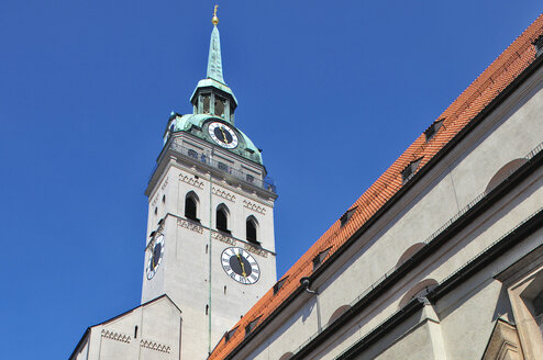 Germany, Bavaria, Munich, St.-Peters Church, Alter Peter - MB00762