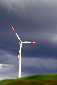 Germany, Baden-Wuerttemberg, Swabian Mountains, Wind turbines, - CRF01357