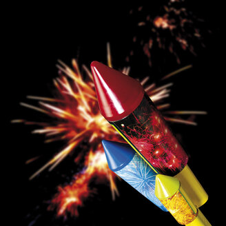 Firework and rockets, close-up - 07541CS-U