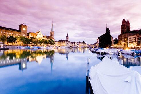 Switzerland, Zurich, city view - MSF02203