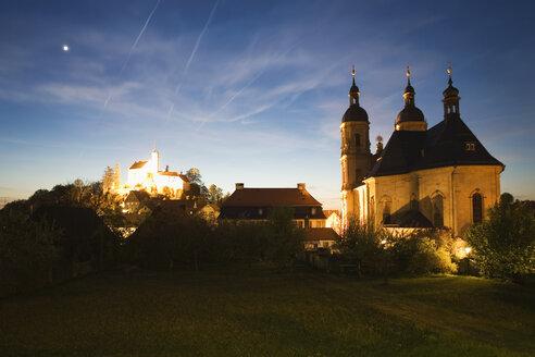 Germany, Bavaria, Gößweinstein, Basilica and Castle - MSF02209