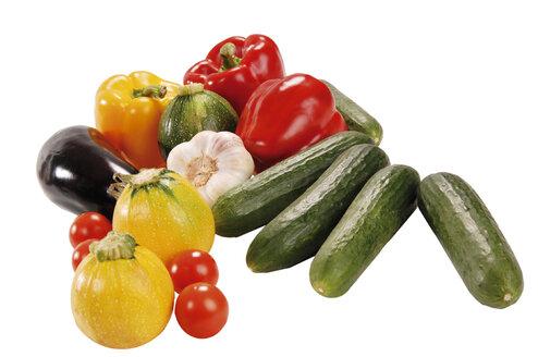 Various vegetables, close-up - 00364LR-U