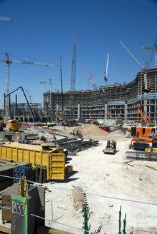 USA, Nevada, Las Vegas, View of construction site - NHF00684