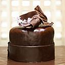 Chocolate cake, close-up - CHK00852