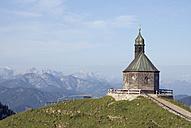 Germany, Bavaria, Wallberg, chapel - UMF00191