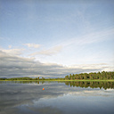 Finland, Hossa National Park, View over the lake - PM00521